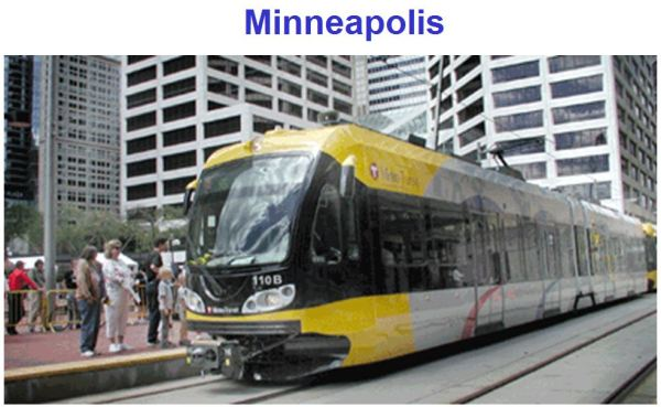 Minneapolis's Hiawatha light rail system also provided case study with data supporting rail ridership ethnic and income diversity.