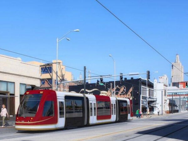CAF Urbos 3 streetcar for Kansas City. Graphic: CAF.